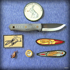 Sargent Edged Tools Knife.. (Tatsu*) Tags: briansargent sargentedgedtools knife knives bushcraftknives smokingrabbit