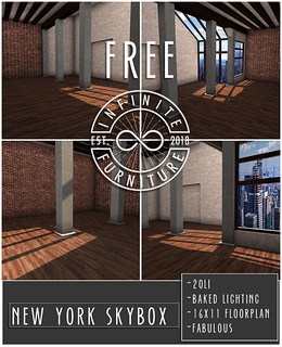 *FREE* INFINITE - New York Skybox @ PocketShop DEBUT!