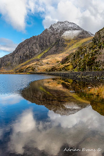 Tryfan Mountain Snowdonia