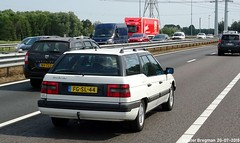 Citroën XM 2.0i Break Comfort 1992 (XBXG) Tags: fgsl44 citroën xm 20i break confort 1992 citroënxm stationcar stationwagen station wagon kombi estate white blanc a9 spaarndam nederland holland netherlands paysbas youngtimer old classic french car auto automobile voiture ancienne française vehicle outdoor
