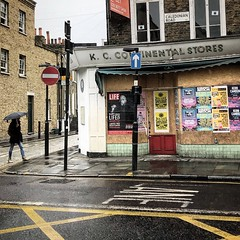 Caledonian Road (Flamenco Sun) Tags: depression closed abandoned derelict britain weather london rain