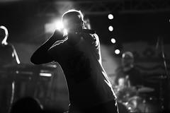 The Frontman (Nicola Agostini) Tags: rock live livemusic rockadomicilio blackandwhite freehand