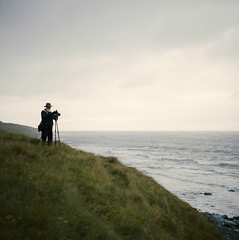 david (lawatt) Tags: hillside ocean photographer david coast árneshreppur westfjords iceland film 120 portra 400 hasselblad 80mm