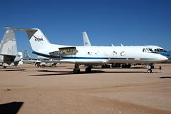 NASA | Gulfstream GII | N948NA | Pima Air & Space Museum (Dennis HKG) Tags: nasa gulfstream gii glf2 aircraft airplane airport plane planespotting bizjet businessjet canon 1d 24105 pima museum n948na