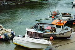 'The Boat' lying at peace in the harbour (Geordie_Snapper) Tags: boats boscastleharbour boscastlevillage canon5d4 canon70200mmf4islusm canon2470mm cornwall holidayboscastle june summer sunny