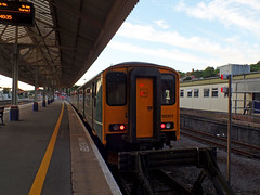 150263 Exeter St Davids (Marky7890) Tags: gwr 150263 class150 sprinter 5e52 exeterstdavids railway devon devonmainline train