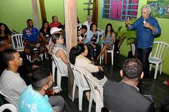 13/08/2018 Reunião com o Pastor Emerson Rodrigues e amigos