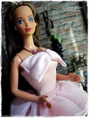 Perfume Pretty Whitney (Brani's fashion dolls) Tags: perfume pretty whitney barbie 80sbarbie brunette steffiebarbie
