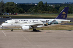 IMG_2313 1200 (Tristar images) Tags: dapta saudi arabian airlines airbus a319100 at bhx