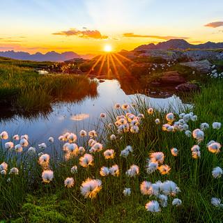Sunrise at the Mad-Plateau