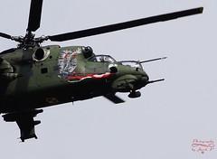 Helicopter Mi-24 (Hind) (Jurek.P) Tags: helicopters śmigłowiec mi24 husarz inflight aircraft jurekp sonya77
