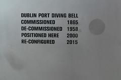 DUBLIN PORT DIVING BELL PLUS MINI-MUSEUM [FEATURES ONE OF MY PHOTOGRAPHS]-141218 (infomatique) Tags: divingbell portengineer bindonbloodstoney rendonandco drogheda dublinport docklands minimuseum museum williammurphy historic infomatique sirjohnrogersonsquay