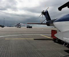 CHC S92 in Bergen-Flesland (Chickenhawk72) Tags: sikorskys92 helicopter bergen flesland norway offshore drilling passenger oilgas flight line chc tarmac apron rotor park