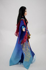 Limited Edition Mulan 20th Anniversary 16'' Doll - Disney Store Purchase - Deboxed - Standing - Full Left Side View (drj1828) Tags: mulan 20thanniversary limitededition 16inch doll collectible disneystore 2018 us purchase deboxed