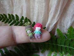 128-Gomfrena and Fern 15mm (4) (tinyteensdolls) Tags: botanicalsecrets miniature microart crochet amigurumi microcrochet threadcrochet miniamigurumi tinyart gomfrena fern amigurumidoll artdoll craft crochetmini crochettoy crochetminiature crochetdoll mini micro minicrochet toy tinyamigurumi tiny flower plant handmade