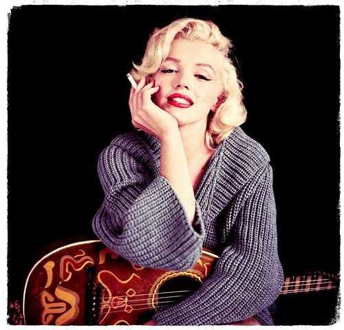 Marilyn Monroe fotografiada por Milton Greene