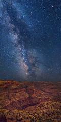 Little Grand Canyon Galaxy (McKendrickPhotography.com) Tags: utah darkskies milkyway stargazing littlegrandcanyon emerycounty sanrafaelswell thewedge