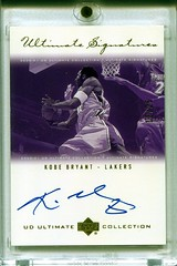 2000-01 Ultimate Collection Signatures Gold Kobe Bryant 13/25 (Chen_Kevin) Tags: ultimate signatures gold kobe bryant auto