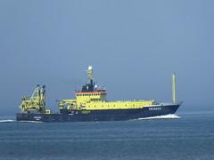 Tridens near Scheveningen (jimcnb) Tags: geo:lat=5211957705 geo:lon=425814628 geotagged schiff 2018 mai scheveningen denhaag boat vessel ship