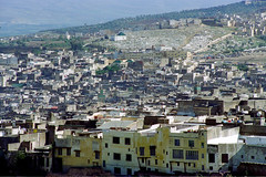 Fès Old Town, 1997 (peace-on-earth.org) Tags: peaceonearthorg fès morocco maroc old town panorama