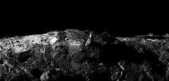 Comet horizon (europeanspaceagency) Tags: esa europeanspaceagency space universe cosmos spacescience science spacetechnology tech technology comet 67p chury blackandwhite scienceimageoftheweek rosetta philae 67pcg comet67pchuryumovgerasimenko churyumovgerasimenko osiris