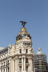 Metropolis (tommyajohansson) Tags: madrid comunidaddemadrid spain es españa spanien semester ferie vacances weekendbreak urlaub tommyajohansson geotagged