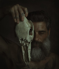 Bones. (jcalveraphotography) Tags: bones portrait photo photographer projects people picture person selfportrait selfie serie studio beard bearded 365 explore 365days eyes