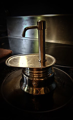 Coffee Device (wordster1028) Tags: coffee moka italian homemade device stainlesssteel water steam