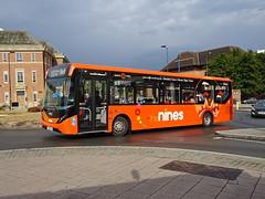 trent barton 251 Derby (Guy Arab UF) Tags: trent barton 251 yx66wlw alexander dennis e20d enviro 200 mmc bus derby corporation street derbyshire wellglade group buses wellgladegroup