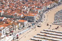 Nazaré (genf) Tags: nazare portugal beach sun sea village strand zee zon dorp stad city road straat boulevard outdoor above buiten bovenaf sony a99ii