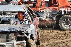 Shake and bake-demolition derby-Boone County fair (Laurence's Pictures) Tags: boone county fair belvidere illinois state show animal politican tractor 2018 demolision demolition derby cars race auto automobile america crash junk racing nascar em up