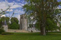 Abbaye Notre-Dame du Bec (2) (JLM62380) Tags: abbaye moine eure abbey bechellouin normandy france architecture sky clouds towers ciel pelouse arbre tour bâtiment abbayenotredamedubec