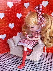 Pause amoureuse (LeRaminagrobis) Tags: pullip doll candyneige candycandy
