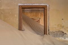 Kolmanskop ghost town (Tim&Elisa) Tags: namibia kolmanskop lüderitz canon sand dunes ghosttown house remote africa