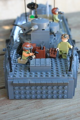 Command and Communications Boat (CCB) (tyfighter07) Tags: lego vietnam navy brown water river ccb command communications communication boat boats brownwaternavy war gun guns canal