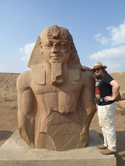 Ramesses II, Tanis (Aidan McRae Thomson) Tags: tanis ruins archaeological site egypt ancient egyptian statue sculpture