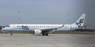 EI-GGC Embaer ERJ 195 Flybe operated by Stobart Air