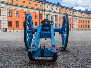 Blaue Kanone II