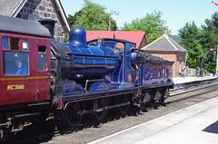 IMGP1022 (Steve Guess) Tags: boatofgarten station strathspey steam heritage preserved railway aviemore highlands scotland gb uk caledonian cr 060 loco locomotive