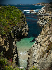 Point Lobos - Secluded Beach smaller (deanwampler) Tags: pointlobos