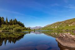 Llynnau Mymbyr (gmorriswk) Tags: wales unitedkingdom gb reflection reflections snowdon snowdonia national park capel curig long exposure formatt hitch soft nd grad