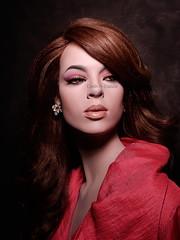 Angela (dashndazzle) Tags: dashndazzle mannequin makeup rootstein angela impact collection
