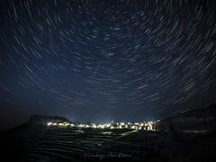 Gudar, Teruel. Comunidad de Aragón. (:) vicky) Tags: gudar teruelcomunidaddearagón circumpolar nocturna night nocturnas estrellas spain
