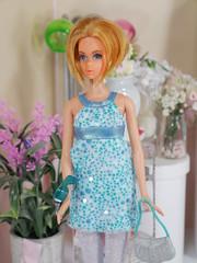 TNT barbie mod outfit (modcasey) Tags: barbie photo challenge divas theme hair