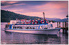 A Cruise (PixelRange) Tags: nikond7000 nikkor18300mm sanjaysaxena pixelrange clouds windermerelake water cruise tourist scenicview greenery trees nature sunset pier