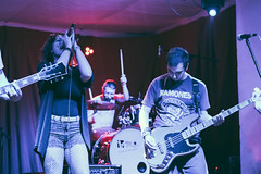 The Hail (sarahmu.) Tags: band concert italian italy italianband guitar bass bassist drums drummer singer singing femalesinger performance