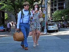 Good Morning Manhattan (Multielvi) Tags: new york city ny nyc manhattan man woman couple candid