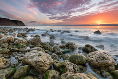 Energy is Never Lost, Just Redirected (johnkaysleftleg) Tags: sunrise hordenpoint foxholes durhamcoast heritagecoast seascape rocks boulders countydurham northeast england canon760d sigma1020mmf456exdchsm ndhardgrad09