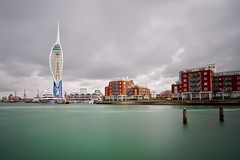 Portsmouth (nickcoates74) Tags: gorillapod 12mm samyang a6300 sony nd1000 longexposure hampshire spinnakertower portsmouth
