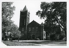 Alma Mater and Altgeld Hall (Champaign Co History Museum) Tags: champaigncounty champaigncountyhistory illinois universityofillinois urbana champaign campus almamater altgeldhall belltower mainquad
